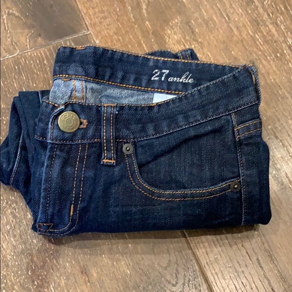 J crew toothpick denim jeans size 27 ankle NWOT